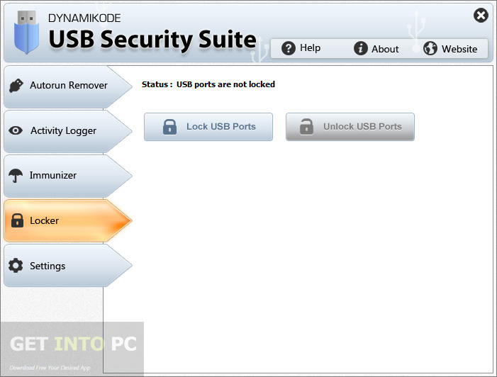 Download standalone Dynamikode USB Security Suite installer