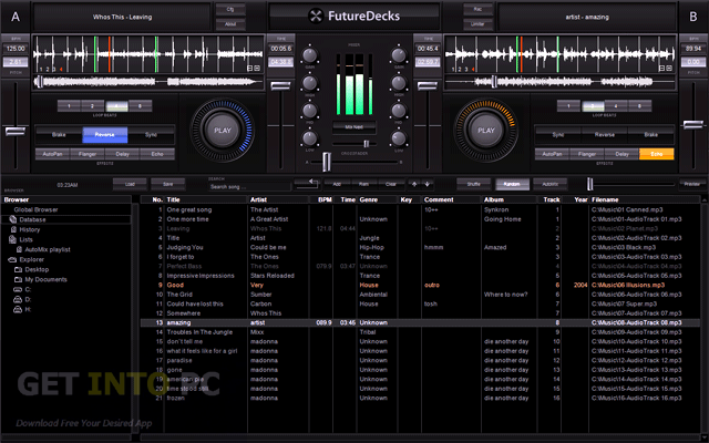 Download offline installer FutureDecks DJ Pro