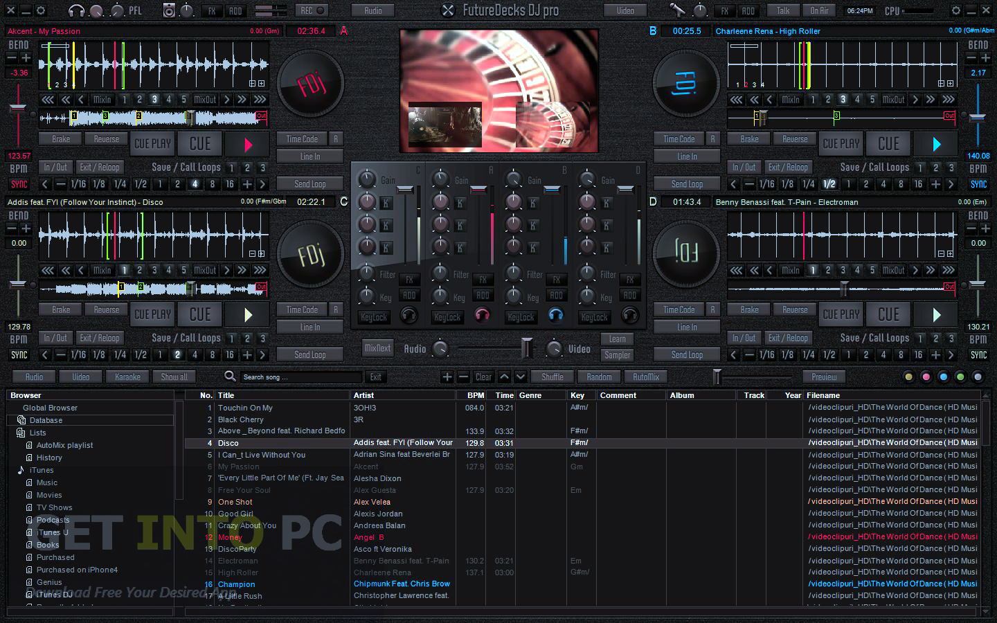 Installing FutureDecks DJ Pro Free Download