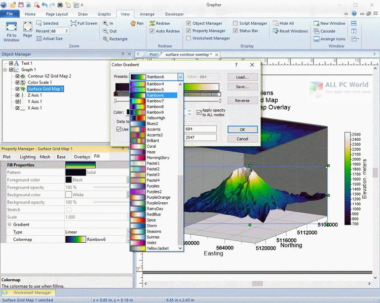 Golden Software Grapher 14.3 Free Download