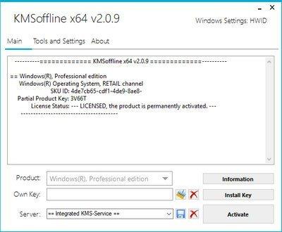 Download KMSOffline Activator