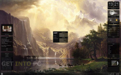 Download the latest version of Rainmeter