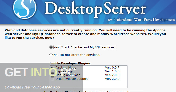ServerPress DesktopServer Premium Direct link Download-GetintoPC.com