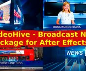 VideoHive - Broadcast News Package for After Effects Free Download-GetintoPC.com