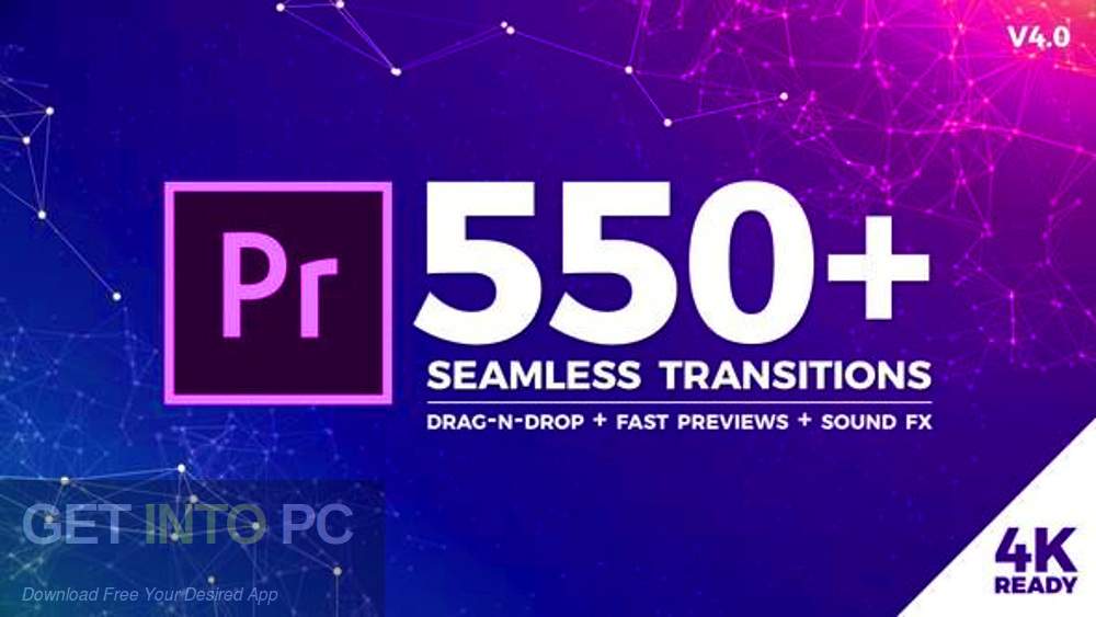 VideoHive - smooth transitions for Premiere Pro Free Download - GetIntoPC.com