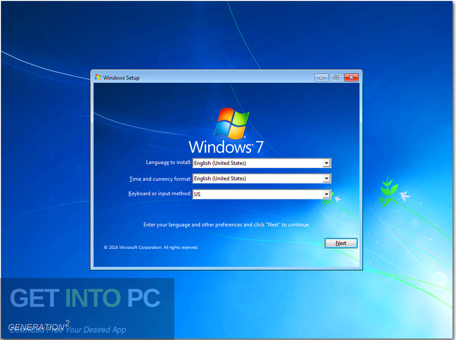 Windows 7 AIl in One 32 64-bit ISO May 2019. Direct link Download-GetintoPC.com