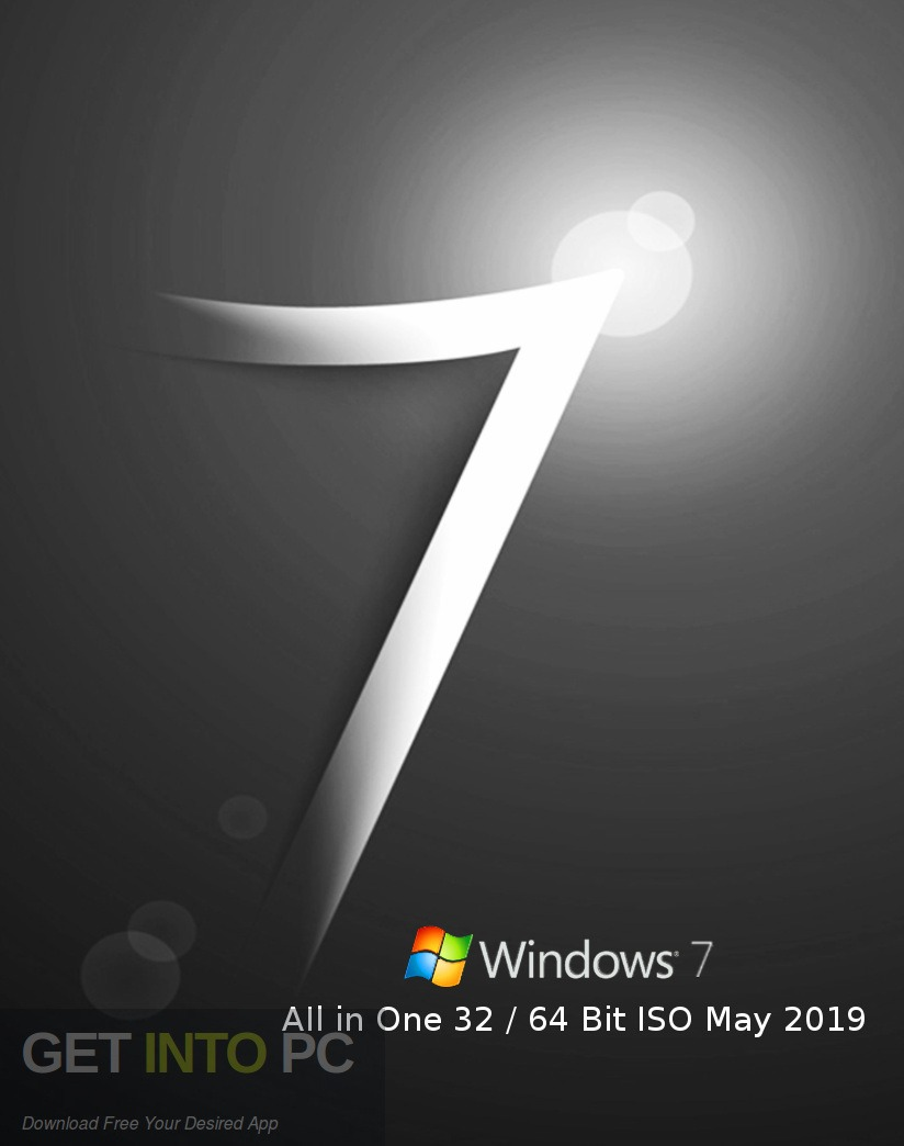 Windows 7 AIl in one 32 64-bit ISO May 2019 free Download-GetintoPC.com