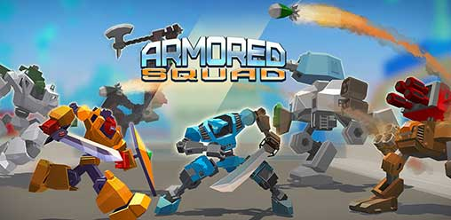 Armored squad: Mechs against Robots