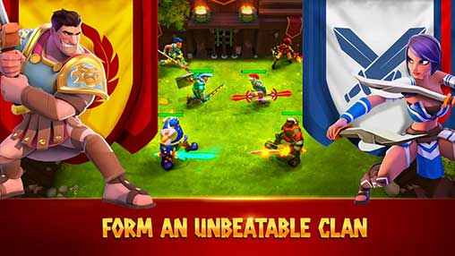Gladiator Heroes: Clan War Games Apk