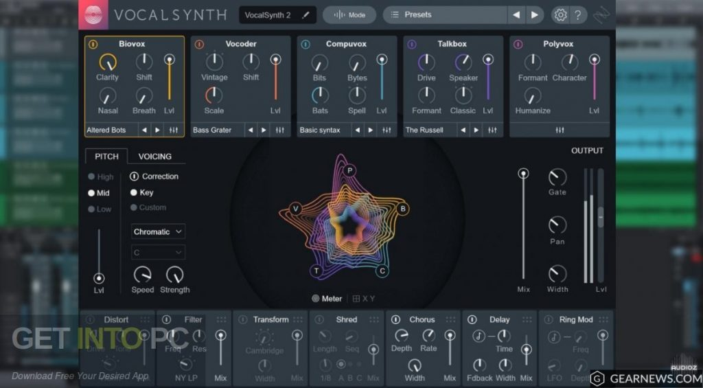 iZotope VocalSynth v2 Latest version Download-GetintoPC.com