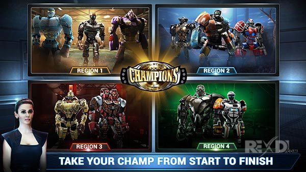 Real Steel Champions for Android