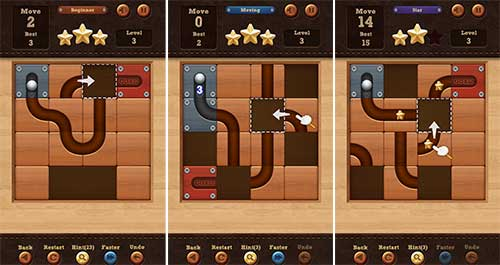 Roll the Ball - slide puzzle Apk