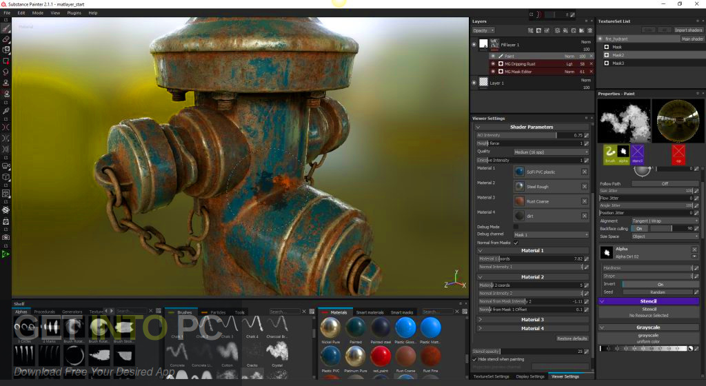 Allegorithmic Substance Designer 2019 Direct Link Download-GetintoPC.com
