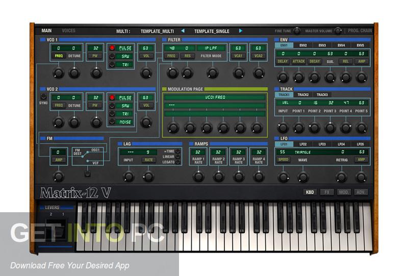 Collection of plugins Arturia V VST Direct link Download-GetintoPC.com