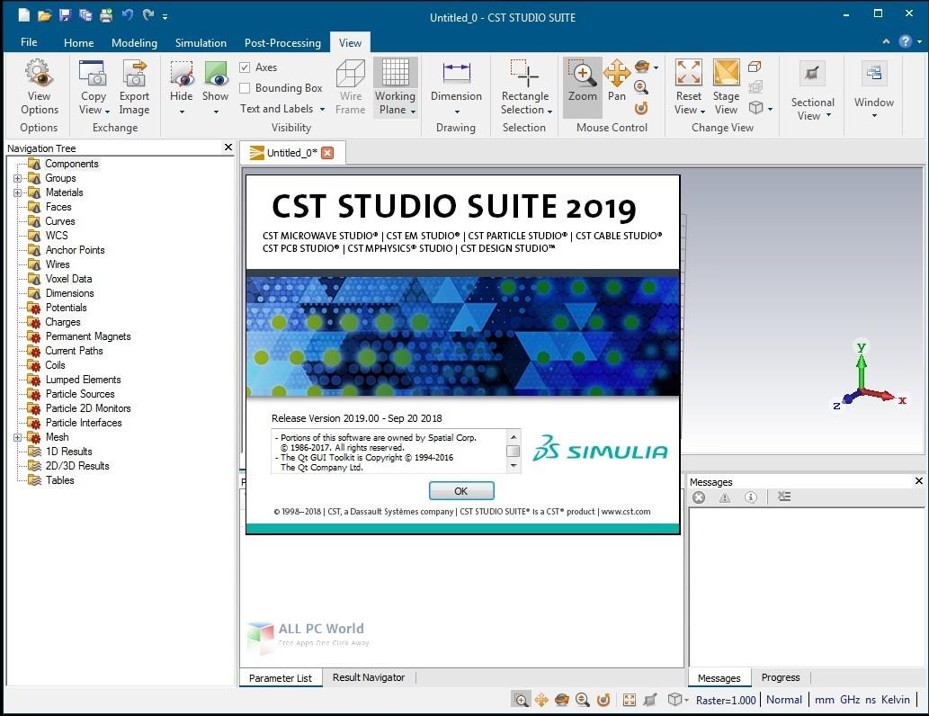 CST STUDIO SUITE 2019 SP3