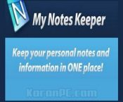 My Notes Keeper 3.9.2 Build 2100 Free Download + Portable