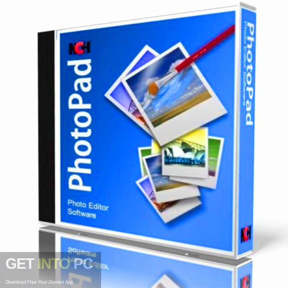 NCH PhotoPad Image Editor Professional 2017 Free Download - GetintoPC.com