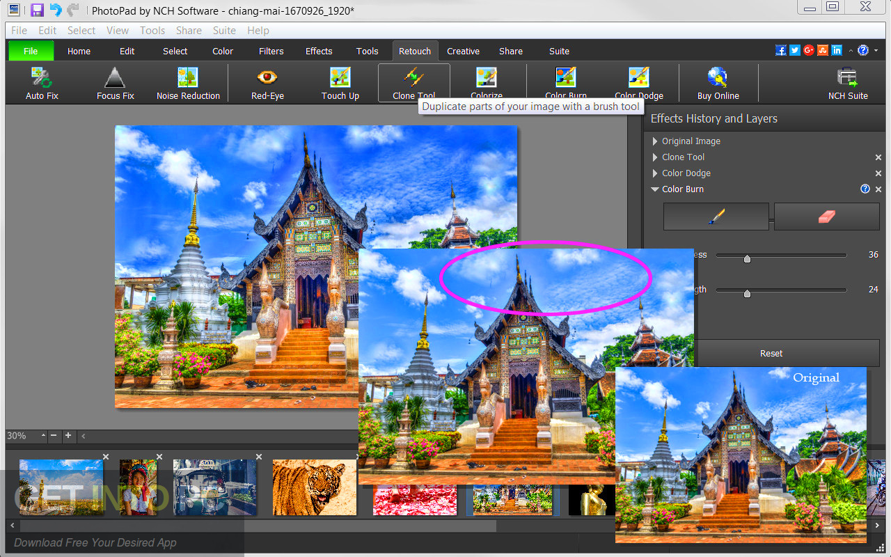 NCH PhotoPad Image Editor Professional 2017 Standalone Installer Download-GetintoPC.com