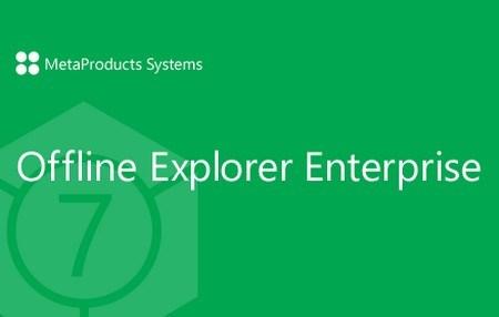 Download Offline Explorer Enterprise fully