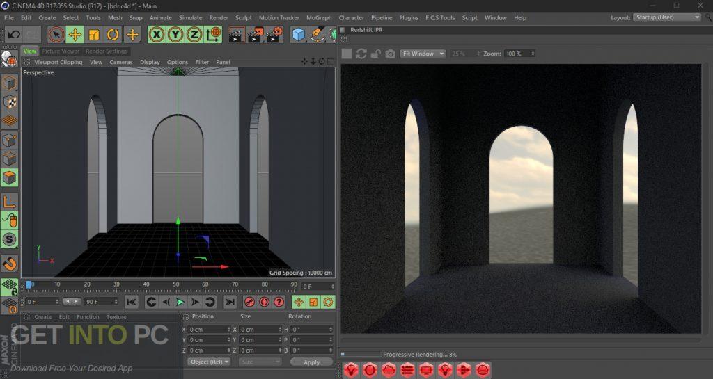 Redshift Render for Cinema 4D R16-R18 Direct link Download-GetintoPC.com