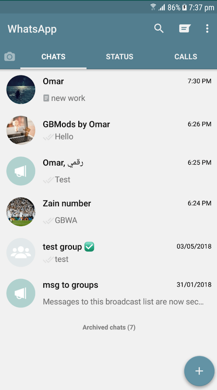 themes for gbwhatsapp