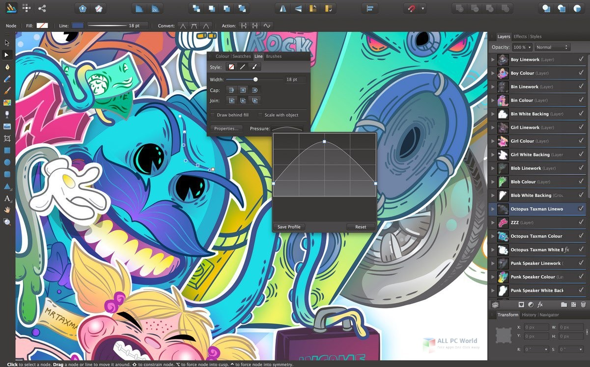 Serif Affinity Designer 1.7 Free Download