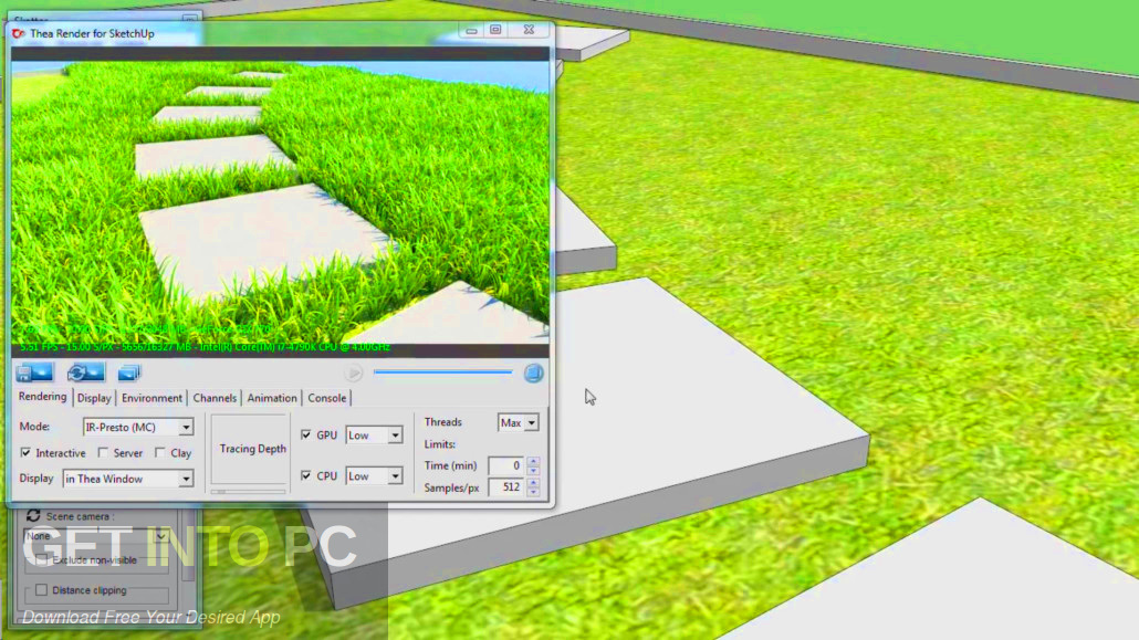 Scatter plugin for Sketchup Direct link Download-GetintoPC.com