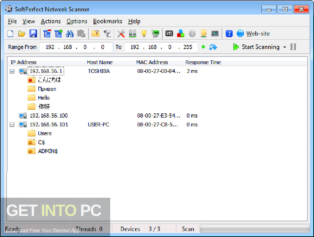 Standalone SoftPerfect Network Scanner installer Download-GetintoPC.com