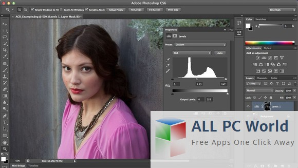 Overview and features of Adobe Photoshop CS6
