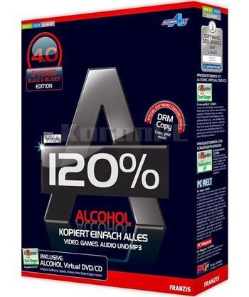 Download full version of Alcohol 120