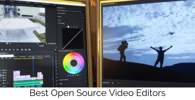 best open source video editors
