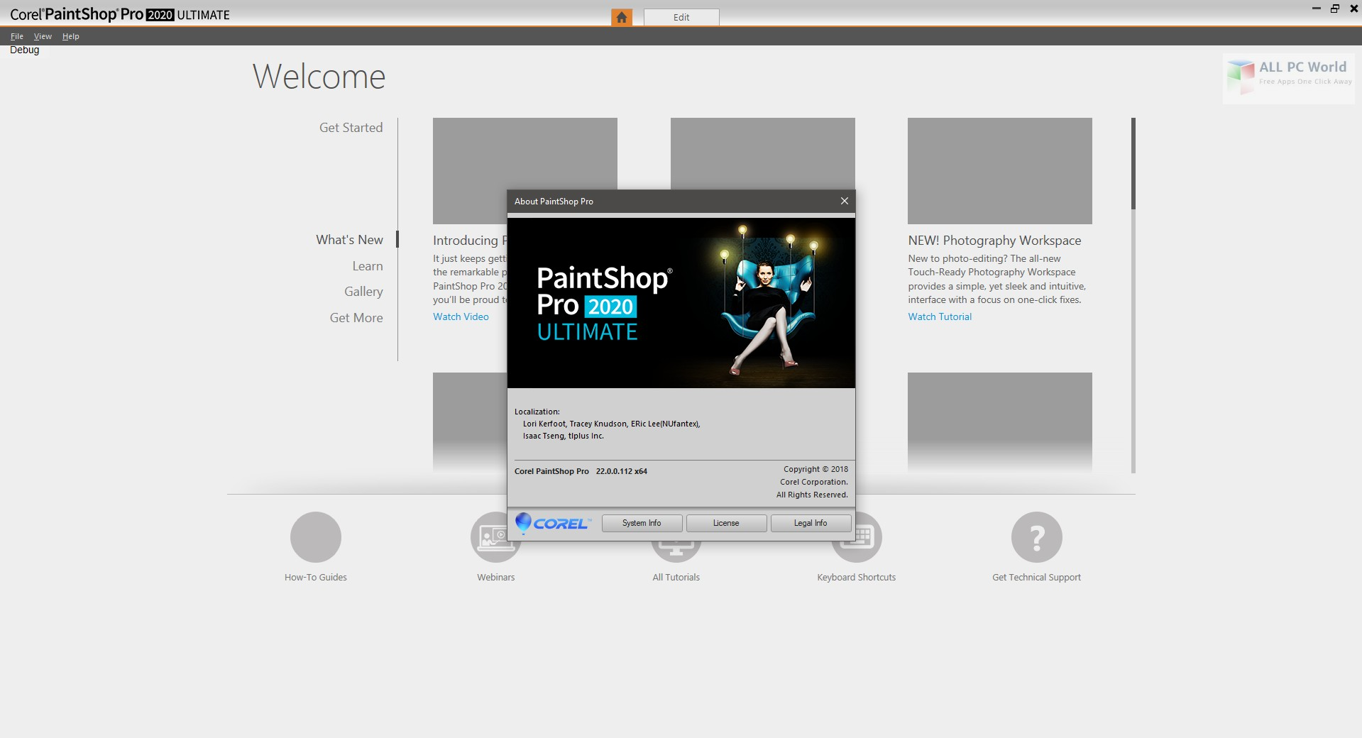 Corel PaintShop Pro Ultimate 2020 v22.0 download free