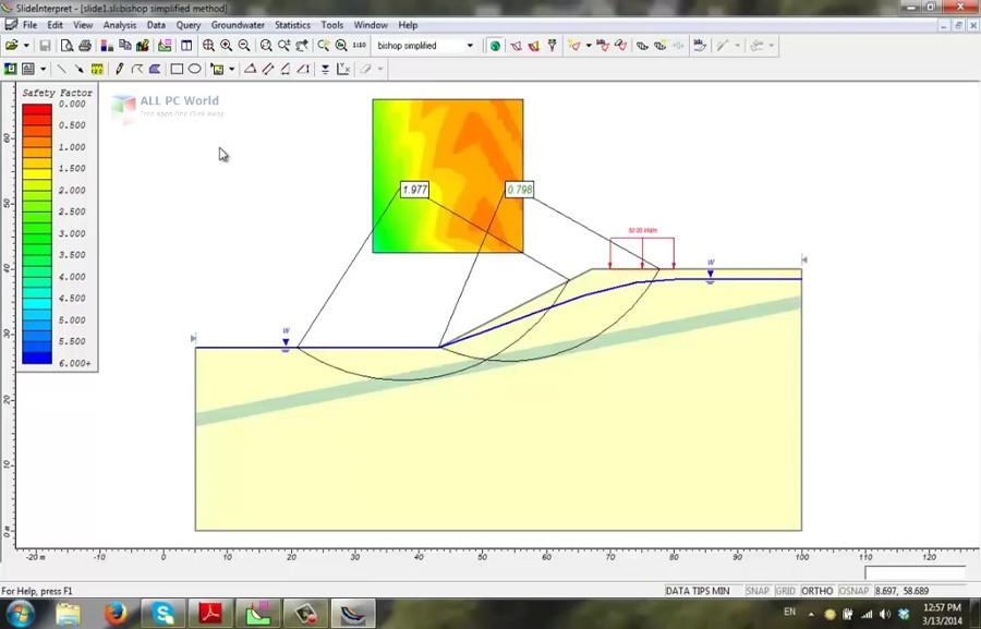Rocscience Dips 6.0 / Settle3D v2.0 / Slide 6.0 / Unwedge 3.0
