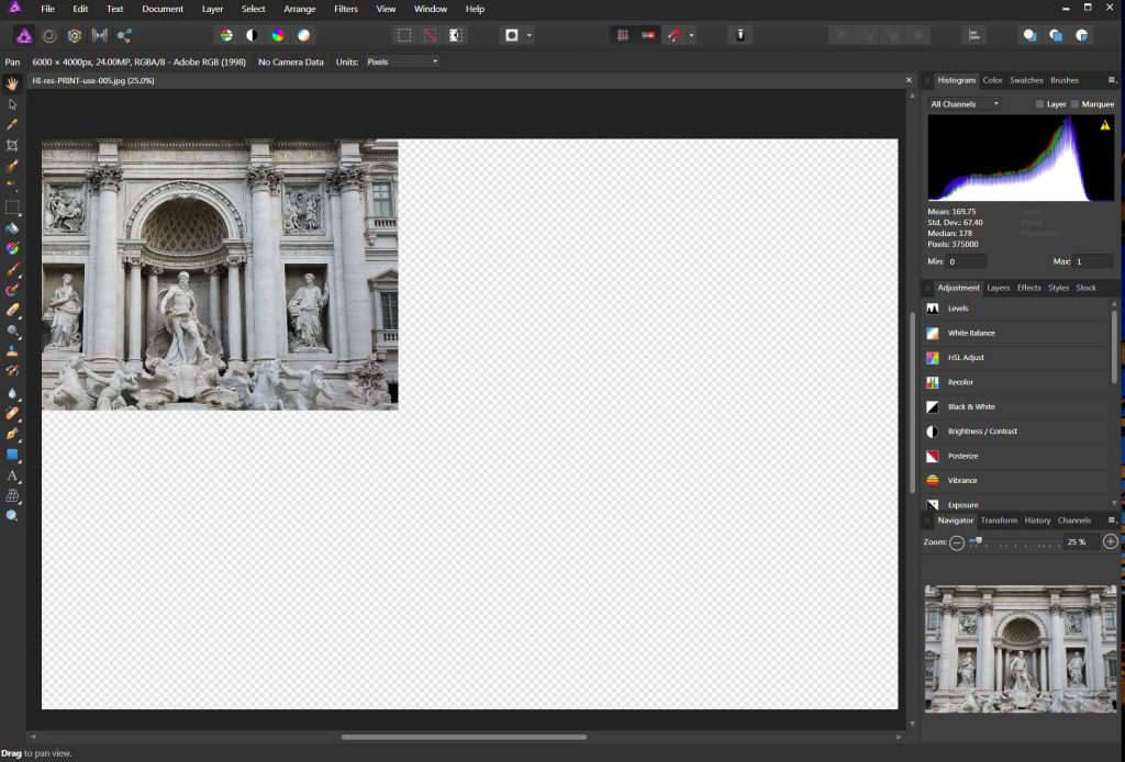 Serif Affinity Photo 1.6.4.104 Download standalone installer