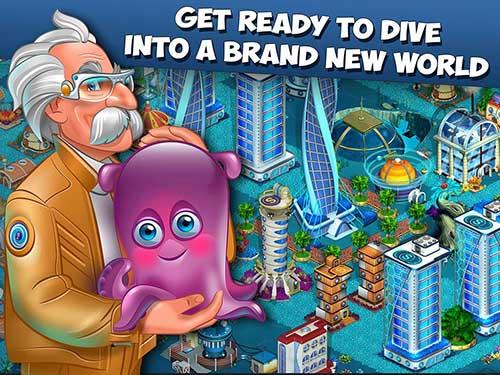 Aquapolis - Build a Megapolis Apk