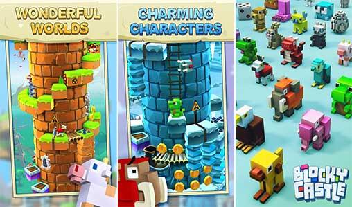 Blocky castle apk