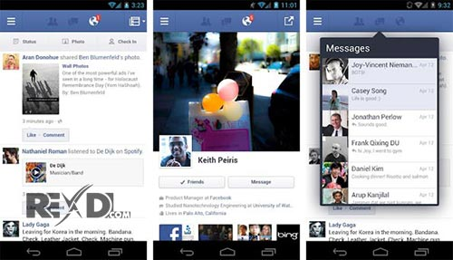 download facebook on android