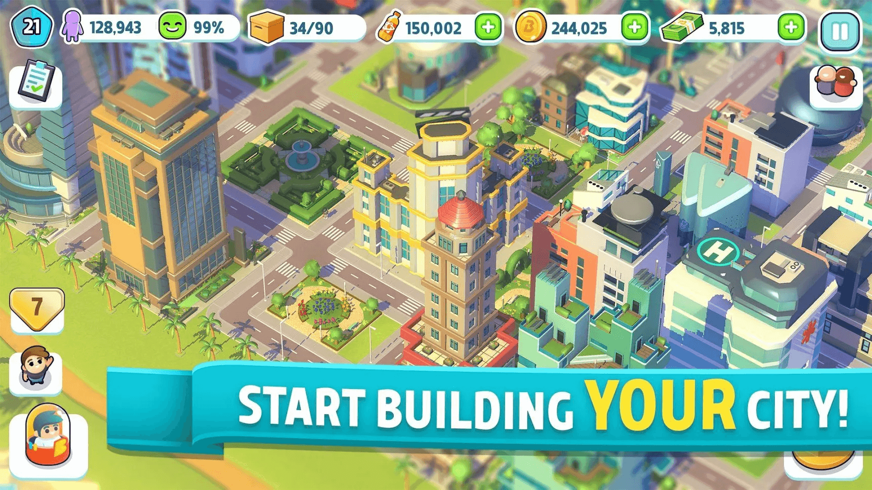 build games for android