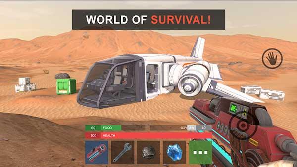 Mars: Survival on Mars Mod
