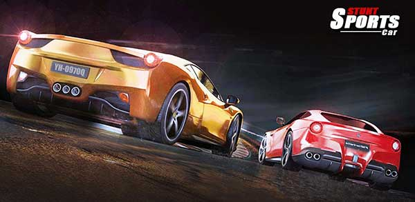 Stunt Sports Car - Drifting Mod