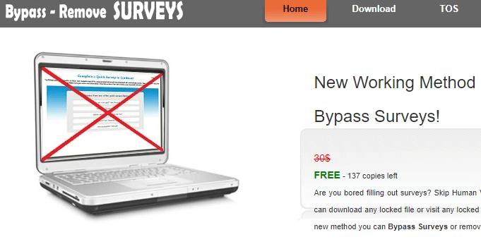 online survey bypass